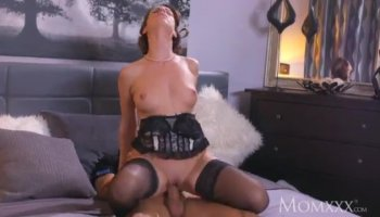 Big bootied chick swallows a meaty prick