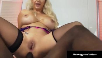 Brown skinned Raquel Love rides on cock fiercely